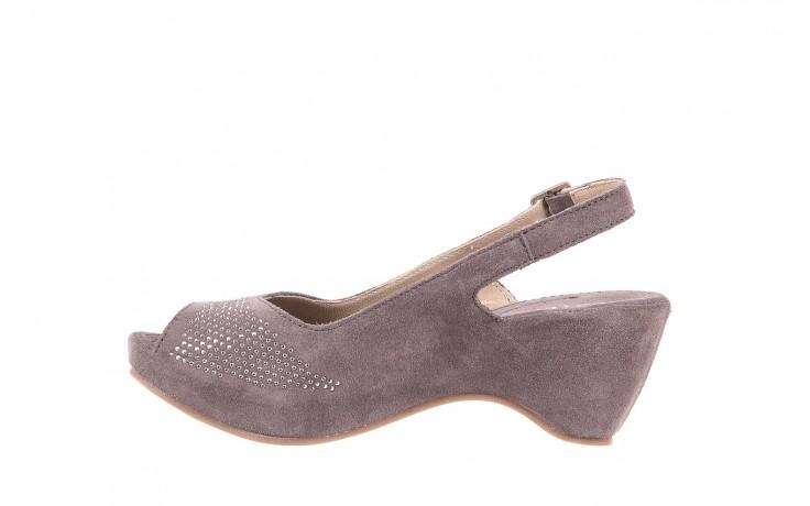 Sandały bayla-131 2507 grigio, szary, skóra naturalna  - bayla - nasze marki 2