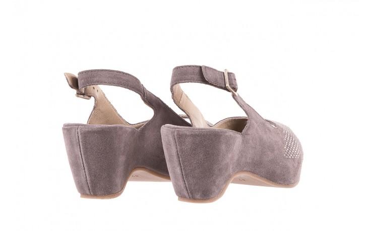 Sandały bayla-131 2507 grigio, szary, skóra naturalna  - bayla - nasze marki 3