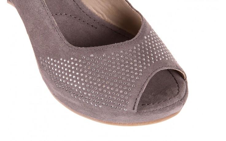 Sandały bayla-131 2507 grigio, szary, skóra naturalna  - bayla - nasze marki 5
