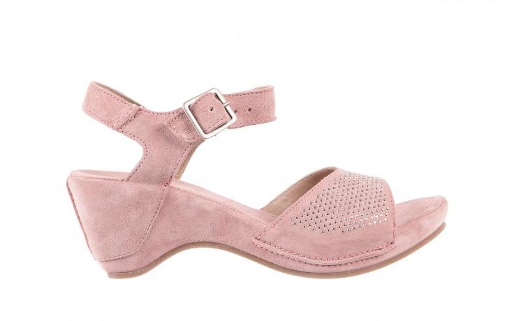 Sandały bayla-131 2508 cipria, róż, skóra naturalna  - bayla - nasze marki