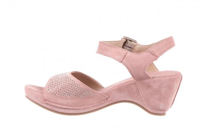 Sandały bayla-131 2508 cipria, róż, skóra naturalna  - bayla - nasze marki 2