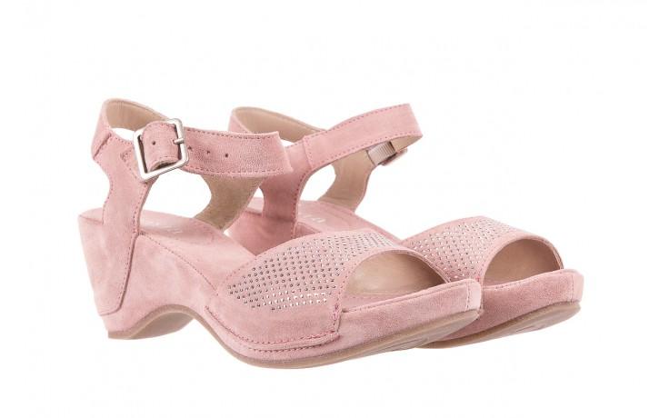Sandały bayla-131 2508 cipria, róż, skóra naturalna  - bayla - nasze marki 1