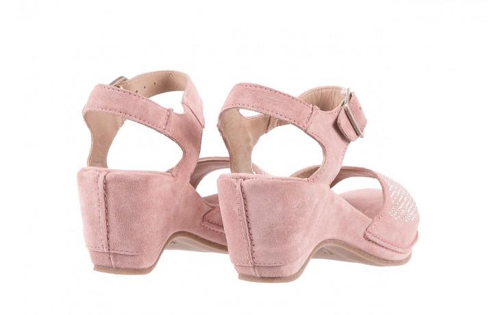 Sandały bayla-131 2508 cipria, róż, skóra naturalna  - bayla - nasze marki 3