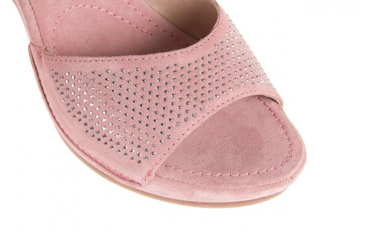 Sandały bayla-131 2508 cipria, róż, skóra naturalna  - bayla - nasze marki 5