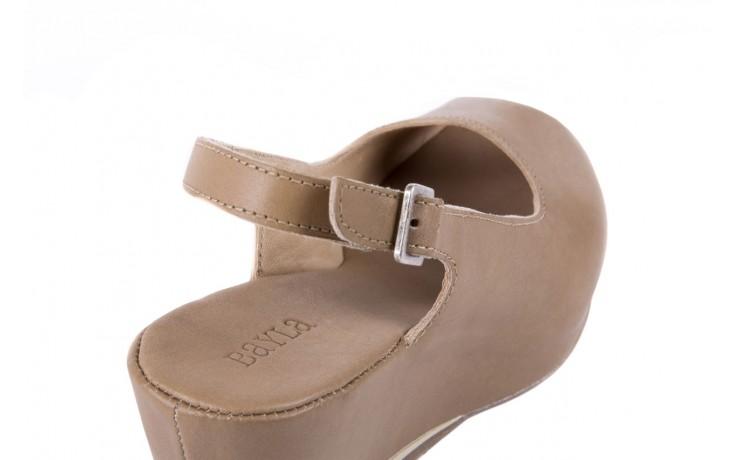 Sandały bayla-131 2705 dune , beż, skóra naturalna - na platformie - sandały - buty damskie - kobieta 5