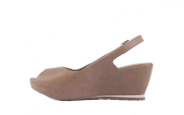 Sandały bayla-131 2705 dune , beż, skóra naturalna - na platformie - sandały - buty damskie - kobieta 2