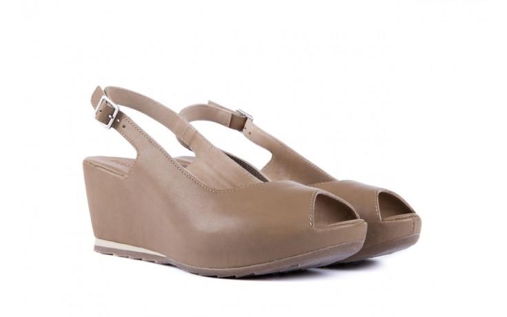 Sandały bayla-131 2705 dune , beż, skóra naturalna - na platformie - sandały - buty damskie - kobieta 1