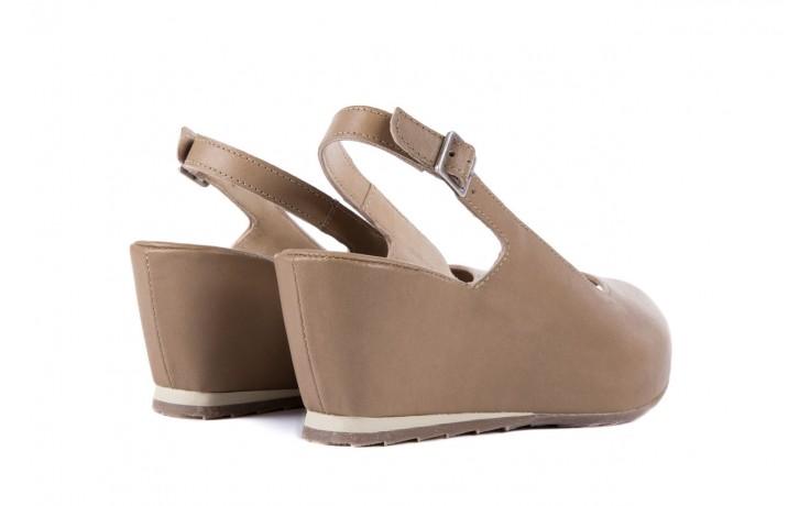 Sandały bayla-131 2705 dune , beż, skóra naturalna - na platformie - sandały - buty damskie - kobieta 3