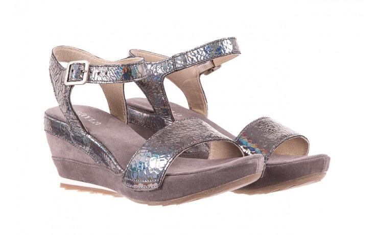 Sandały bayla-131 2711 fucile, szary, skóra naturalna  - sandały - dla niej - dodatkowe -10% 1