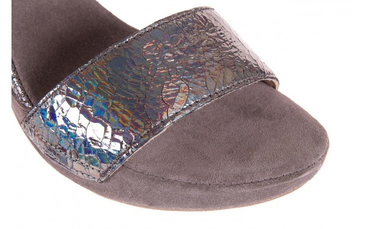 Sandały bayla-131 2711 fucile, szary, skóra naturalna  - sandały - dla niej - dodatkowe -10% 5