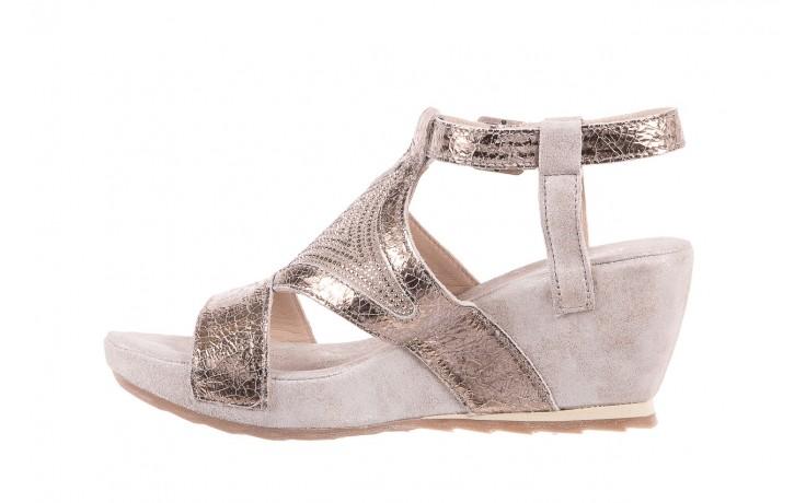 Sandały bayla-131 2714 platino, srebrny, skóra naturalna  - bayla - nasze marki 2