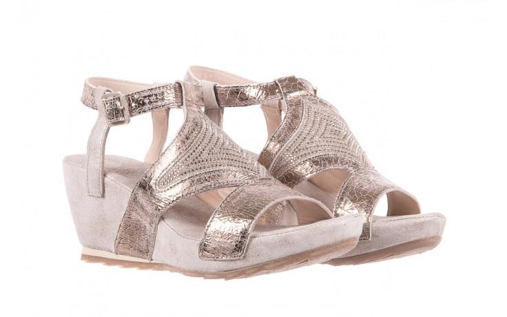 Sandały bayla-131 2714 platino, srebrny, skóra naturalna  - bayla - nasze marki 1