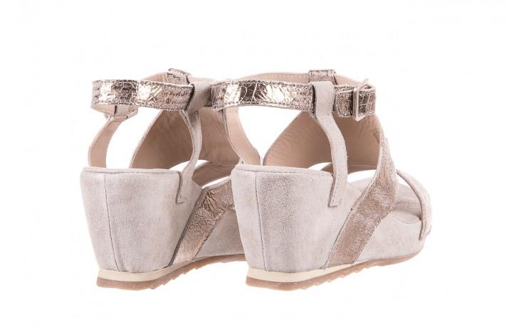 Sandały bayla-131 2714 platino, srebrny, skóra naturalna  - bayla - nasze marki 3