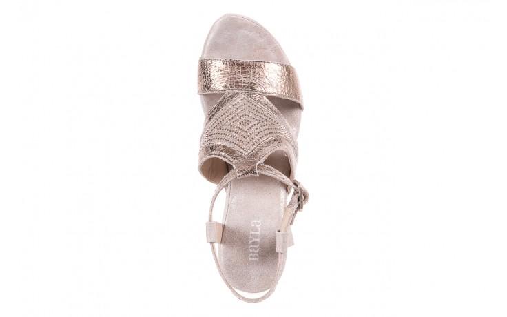 Sandały bayla-131 2714 platino, srebrny, skóra naturalna  - bayla - nasze marki 4