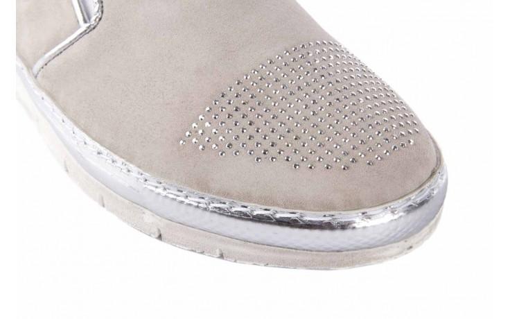 Trampki bayla-131 3912 perla, beż, skóra naturalna - bayla - nasze marki 5