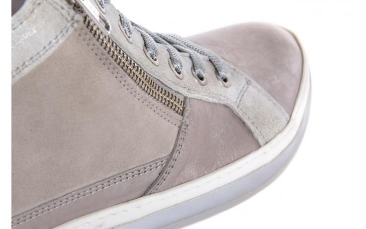 Półbuty bayla-131 4002 platino, skóra naturalna - wysokie - trampki - buty damskie - kobieta 5