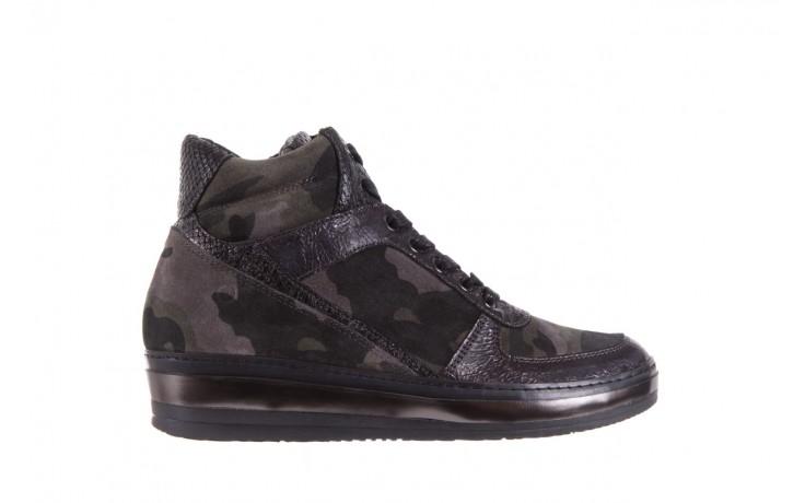 Sneakersy bayla-131 4002 woodland, moro, skóra naturalna  - sneakersy - buty damskie - kobieta