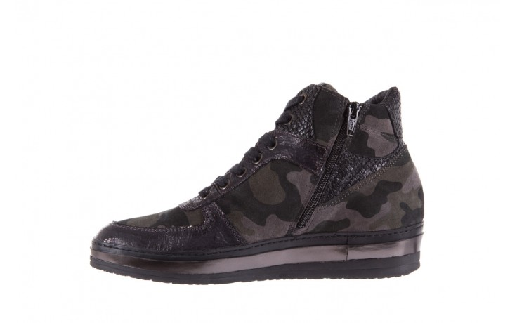 Sneakersy bayla-131 4002 woodland, moro, skóra naturalna  - sneakersy - buty damskie - kobieta 2