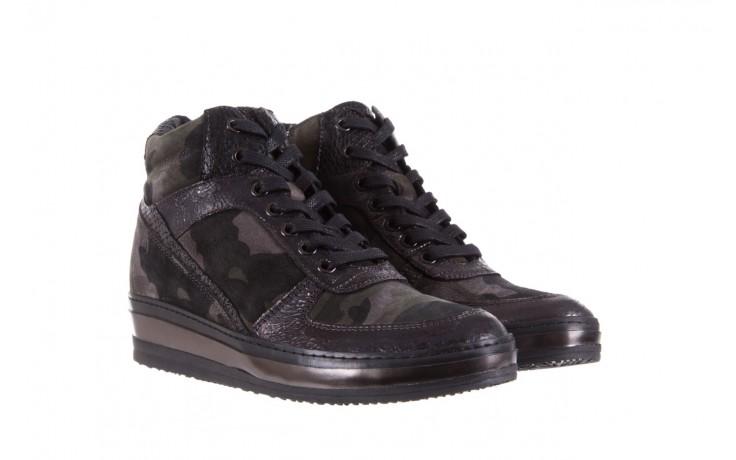 Sneakersy bayla-131 4002 woodland, moro, skóra naturalna  - sneakersy - buty damskie - kobieta 1