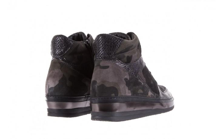 Sneakersy bayla-131 4002 woodland, moro, skóra naturalna  - sneakersy - buty damskie - kobieta 3