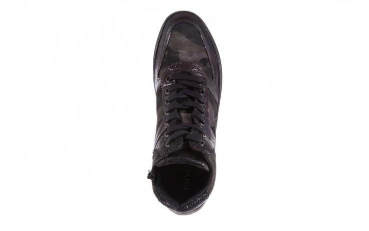 Sneakersy bayla-131 4002 woodland, moro, skóra naturalna  - sneakersy - buty damskie - kobieta 4