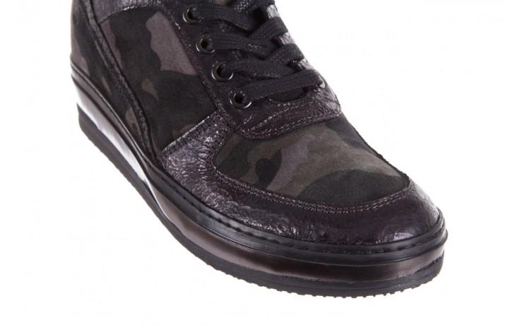 Sneakersy bayla-131 4002 woodland, moro, skóra naturalna  - sneakersy - buty damskie - kobieta 5