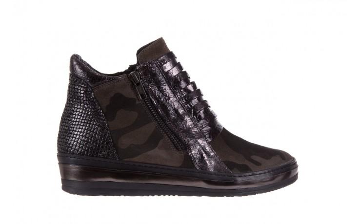 Sneakersy bayla-131 4006 grey, szary, skóra naturalna  - obuwie sportowe - dla niej - dodatkowe -10%