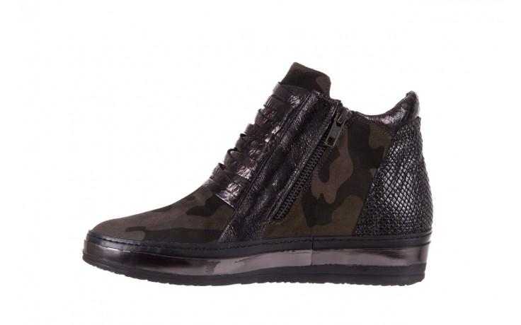 Sneakersy bayla-131 4006 grey, szary, skóra naturalna  - obuwie sportowe - dla niej - dodatkowe -10% 2