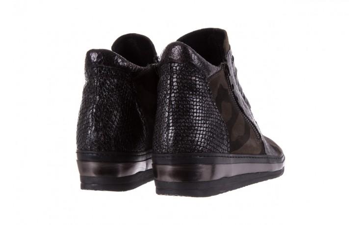 Sneakersy bayla-131 4006 grey, szary, skóra naturalna  - obuwie sportowe - dla niej - dodatkowe -10% 3