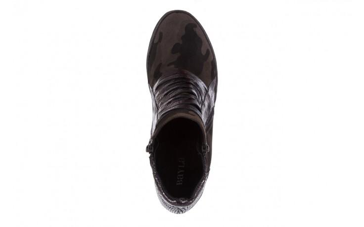 Sneakersy bayla-131 4006 grey, szary, skóra naturalna  - obuwie sportowe - dla niej - dodatkowe -10% 4