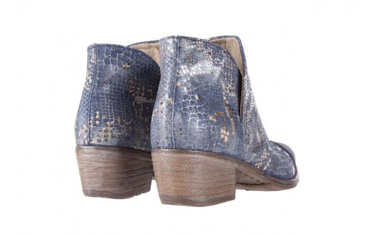 Botki bayla-131 4604 jeans, niebieski, skóra naturalna - bayla - nasze marki 3