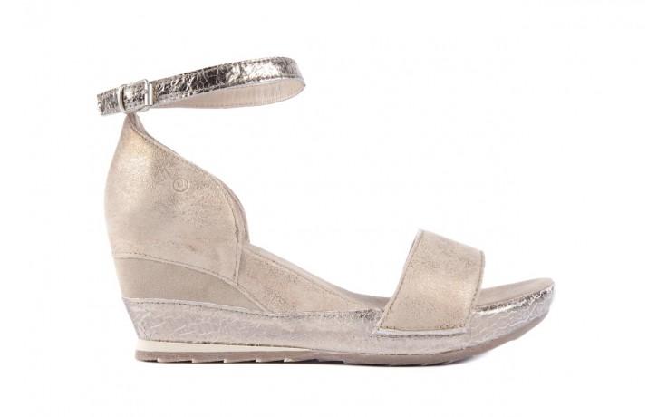 Sandały bayla-131 4813 gold , beż, skóra naturalna - bayla - nasze marki