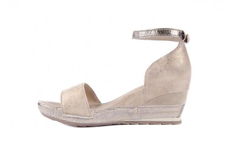 Sandały bayla-131 4813 gold , beż, skóra naturalna - bayla - nasze marki 2
