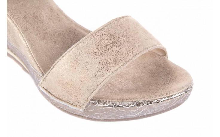 Sandały bayla-131 4813 gold , beż, skóra naturalna - bayla - nasze marki 5