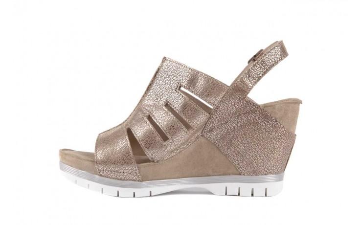 Sandały bayla-131 4905 sand, beż, skóra naturalna - na platformie - sandały - buty damskie - kobieta 2
