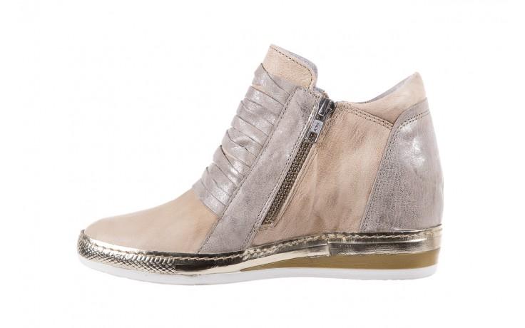 Sneakersy bayla-131 7107 deserto, beż/szary, skóra naturalna  - bayla - nasze marki 2