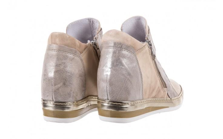 Sneakersy bayla-131 7107 deserto, beż/szary, skóra naturalna  - bayla - nasze marki 3