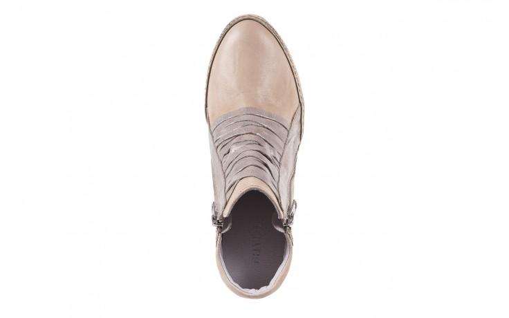 Sneakersy bayla-131 7107 deserto, beż/szary, skóra naturalna  - bayla - nasze marki 4
