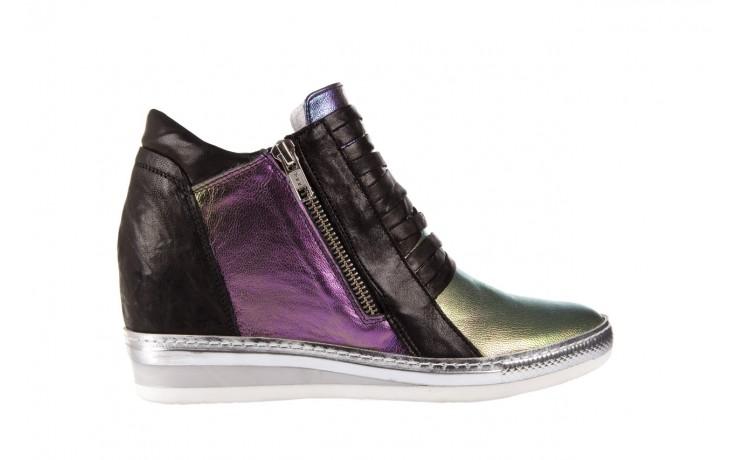 Sneakersy bayla-131 7107 iride, wielokolorowy, skóra naturalna - bayla - nasze marki