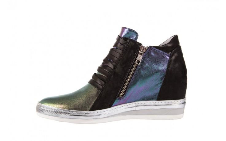 Sneakersy bayla-131 7107 iride, wielokolorowy, skóra naturalna - bayla - nasze marki 2