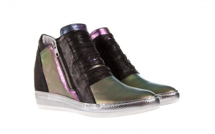 Sneakersy bayla-131 7107 iride, wielokolorowy, skóra naturalna - bayla - nasze marki 1