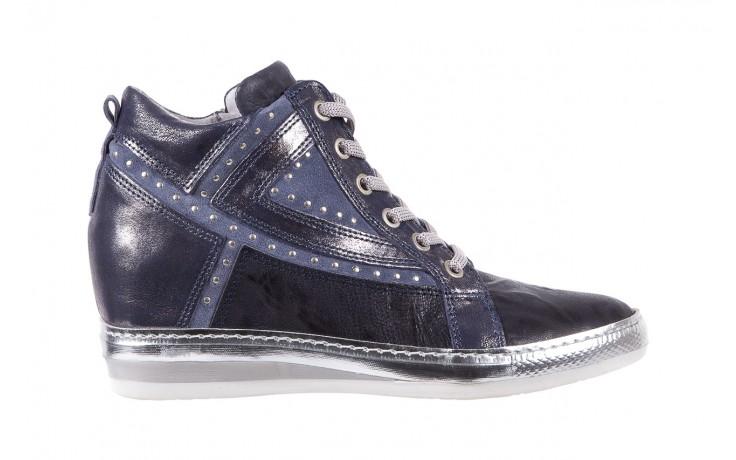 Sneakersy bayla-131 7113 oceano, granat, skóra naturalna  - bayla - nasze marki