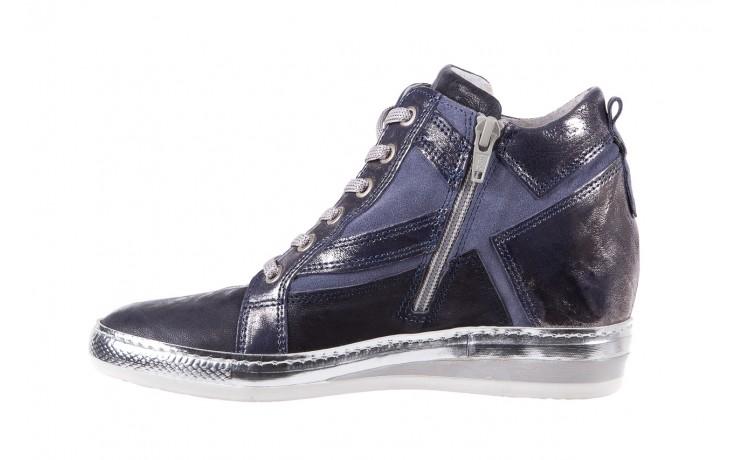 Sneakersy bayla-131 7113 oceano, granat, skóra naturalna  - bayla - nasze marki 2