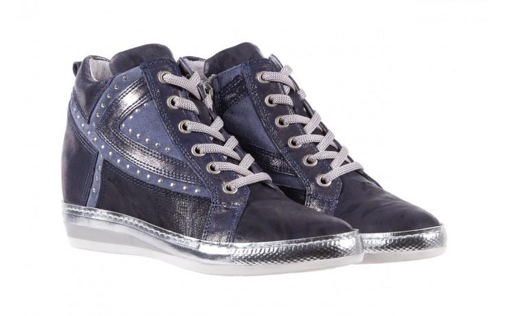 Sneakersy bayla-131 7113 oceano, granat, skóra naturalna  - bayla - nasze marki 1