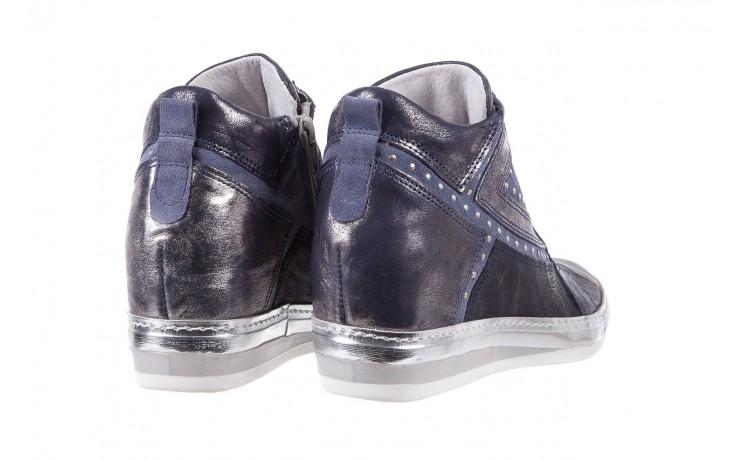 Sneakersy bayla-131 7113 oceano, granat, skóra naturalna  - bayla - nasze marki 3