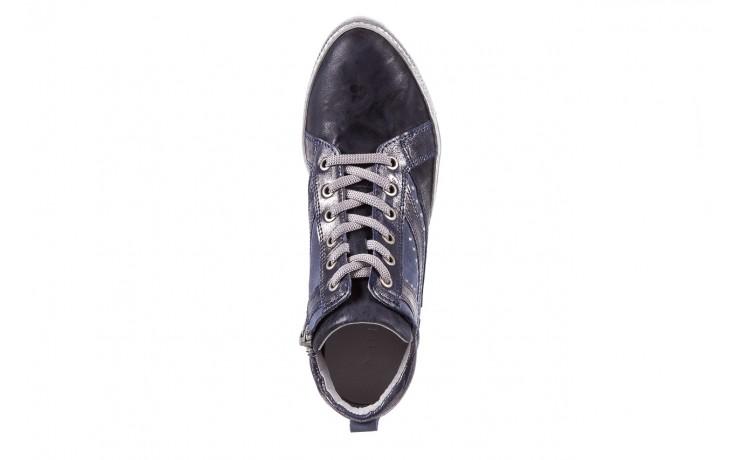 Sneakersy bayla-131 7113 oceano, granat, skóra naturalna  - bayla - nasze marki 4