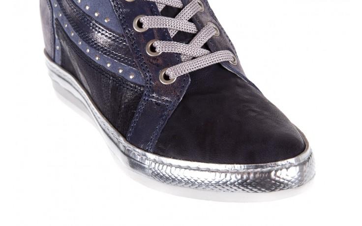 Sneakersy bayla-131 7113 oceano, granat, skóra naturalna  - bayla - nasze marki 5