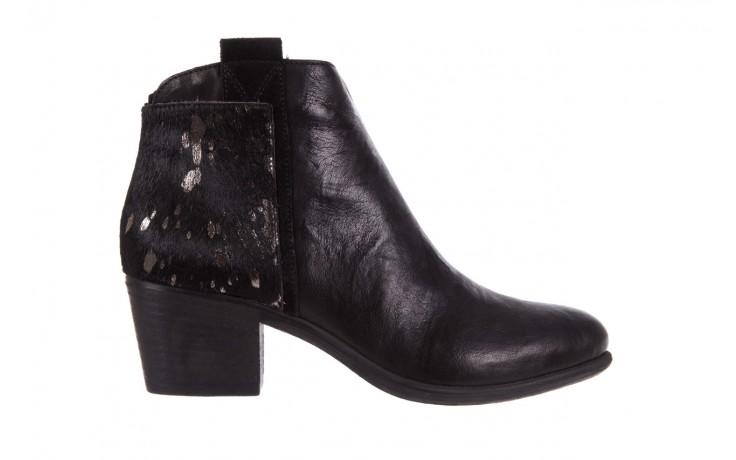 Botki bayla-131 7705 nero, czarny, skóra naturalna  - worker boots - trendy - kobieta