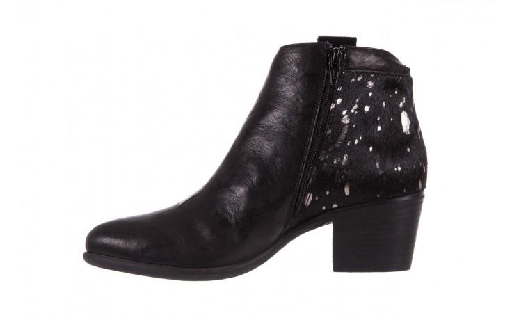 Botki bayla-131 7705 nero, czarny, skóra naturalna  - worker boots - trendy - kobieta 2
