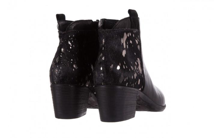 Botki bayla-131 7705 nero, czarny, skóra naturalna  - worker boots - trendy - kobieta 3